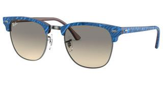 Ray-Ban RB3016 131032 CLEAR GRADIENT GREYTOP WRINKLED BLUE ON BROWN