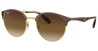 Ray-Ban RB3545 900813 BROWN GRADIENTGOLD/TOP HAVANA