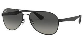 Ray-Ban RB3549 002/T3 GREY GRADIENT DARK GREY  POLARBLACK