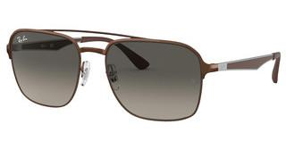Ray-Ban RB3570 121/11 LIGHT GREY GRADIENT DARK GREYBROWN