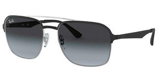 Ray-Ban RB3570 90048G GRADIENT GREYSILVER TOP BLACK
