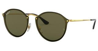 Ray-Ban RB3574N 001/9A DARK GREEN POLARGOLD