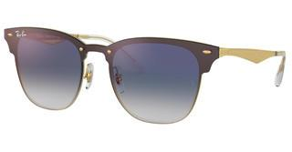 Ray-Ban RB3576N 043/X0 CLEAR GRADIENT BLUE MIRROR REDBRUSHED GOLD