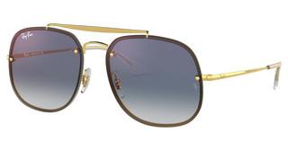 Ray-Ban RB3583N 001/X0 CLEAR GRADIENT BLUE MIRROR REDGOLD