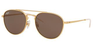 Ray-Ban RB3589 901373 BROWNRUBBER GOLD