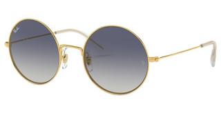Ray-Ban RB3592 001/I9 LIGHT BROWN GRADIENT BLUEGOLD