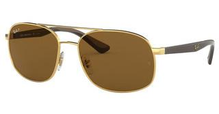 Ray-Ban RB3593 001/83 POLAR BROWNGOLD