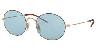 Ray-Ban RB3594 9113F7 LIGHT BLUEGOLD ON TOP BLUE
