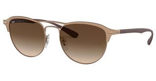 Ray-Ban RB3596 909213 BROWN GRADIENT DARK BROWNLIGHT BROWN ON TOP MATTE