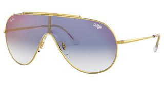 Ray-Ban RB3597 001/X0 CLEAR GRADIENT BLUE MIRROR REDGOLD