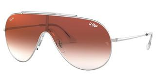 Ray-Ban RB3597 003/V0 CLEAR GRADIENT RED MIRROR REDSILVER