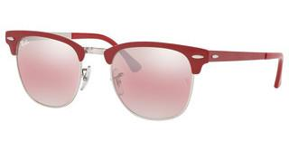 Ray-Ban RB3716 9159AI PURPLE BI-MIRROR GREY-PHOTOSILVER ON TOP MATTE BORDEAUX