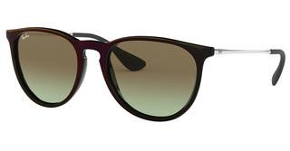 Ray-Ban RB4171 6316E8 GREEN GRADIENT BROWNBLACK SP RED