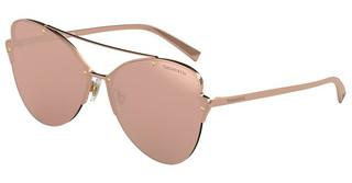 Tiffany TF3063 6105E0 CLEAR MIRROR REAL ROSE GOLDRUBEDO
