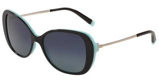 Tiffany TF4156 80554U POLAR AZURE GRADIENT BLUEBLACK/BLUE