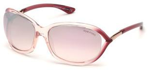 Tom Ford FT0008 72Z violett ver. - verspiegeltrosa glanz