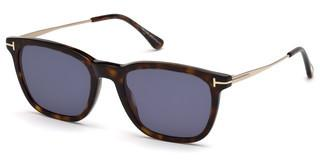 Tom Ford FT0625 52V blauhavanna dunkel