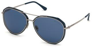 Tom Ford FT0749 90V blaublau glanz