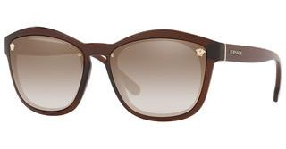 Versace VE4350 53126E GRADIENT BROWN MIRROR GOLDTRANSPARENT BROWN