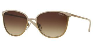 Vogue VO4002S 996S13 BROWN GRADIENTTOP MATTE BEIGE/BRUSHED GOLD