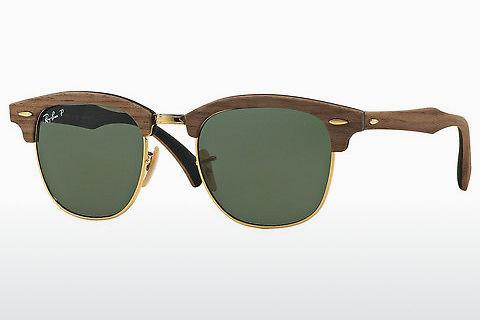 Solglasögon Ray-Ban Clubmaster Wood (RB3016M 118158)