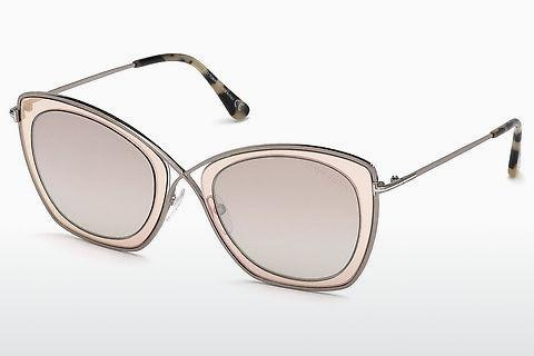 Solglasögon Tom Ford India-02 (FT0605 47G)