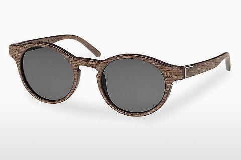 Solglasögon Wood Fellas Flaucher (10754 black oak/grey)