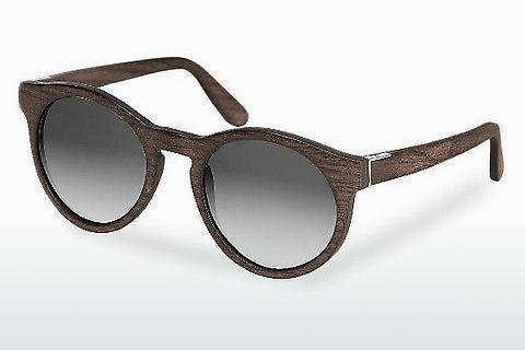 Solglasögon Wood Fellas Au (10756 black oak/grey)