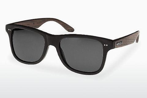 Solglasögon Wood Fellas Lehel (10757 rosewood/black/grey)