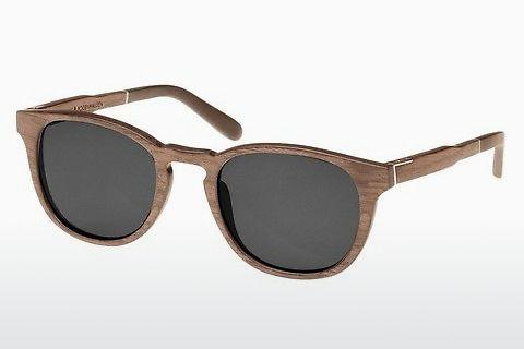 Solglasögon Wood Fellas Bogenhausen (10762 walnut/grey)