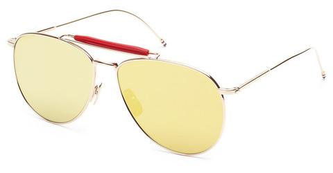 Solglasögon Thom Browne TB-015 GLD-LTD