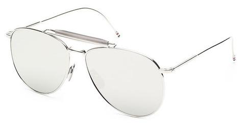 Solglasögon Thom Browne TB-015 SLV-LTD