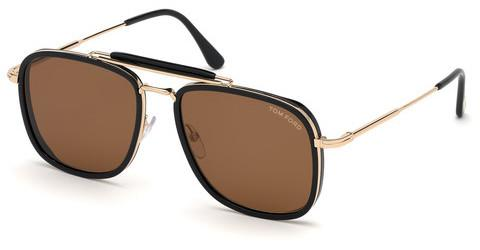Solglasögon Tom Ford Huck (FT0665 01E)