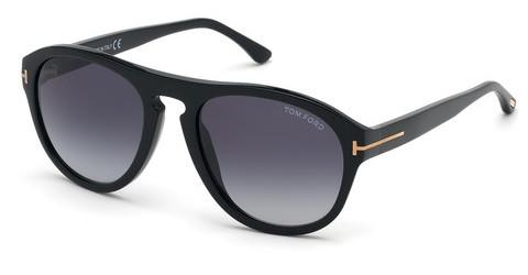 Solglasögon Tom Ford Austin-02 (FT0677 01W)