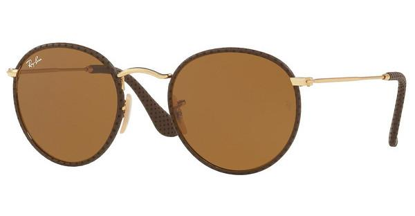Ray-Ban   RB3475Q 9041 BROWNLEATHER BROWN