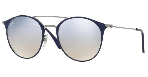 Ray-Ban   RB3546 90109U GREY FLASH GRADIENTGUNMETAL TOP BLUE